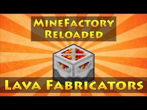 MineFactory Reloaded - Lava Fabricators