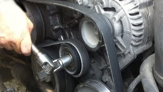 Свист ремня или роликов BMW E46 M54