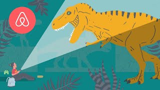 Gambar cover Dino Snores for Kids: Episode 1 | Natural History Museum | Airbnb