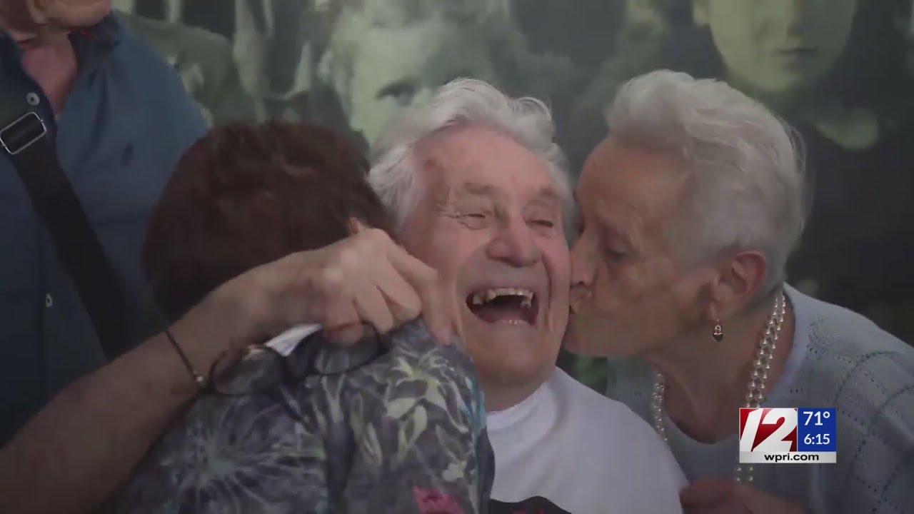 WWII Veteran Reunites with Italian Siblings He Saved as Children