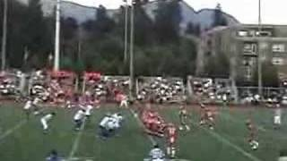 Jamahl Knowles Football Highlights  2007