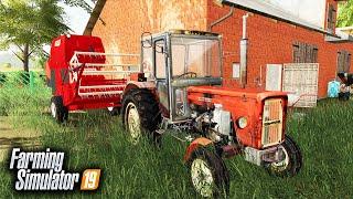 Dziwny Kombajn na Żniwach ♀️ Rolnicy z Miasta  Farming Simulator 19