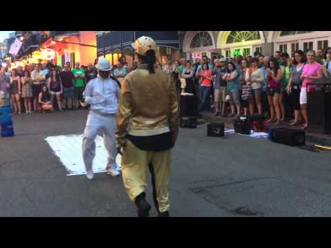 BreakDancing To UpTown Funk Bruno Mars | French Quarter | New Orleans