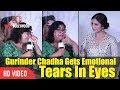 Gurinder Chadha Crying   Gurinder Chadha Gets Very Emotional   PARTITION 1947 Music Launch