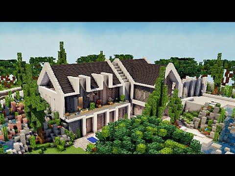 Minecraft Visite maison moderne par Pierresautron