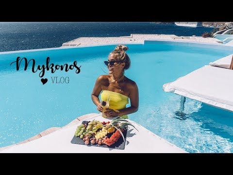 TRAVEL VLOG: Mykonos!! I love GREECE