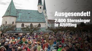 Ausgesendet - 2.600 #sternsinger in Altötting