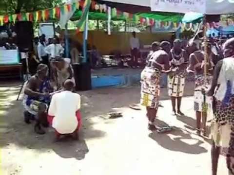 Gambella Ethiopia traditional dance