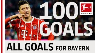 Lewandowski's Century - 100 Bayern Goals