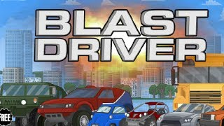 BLAST DRIVER Level1-12 Walkthrough