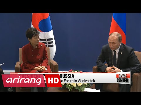 President Park Geun-hye to visit Russia for Econ. Forum, Summit with Russian Pres. Putin