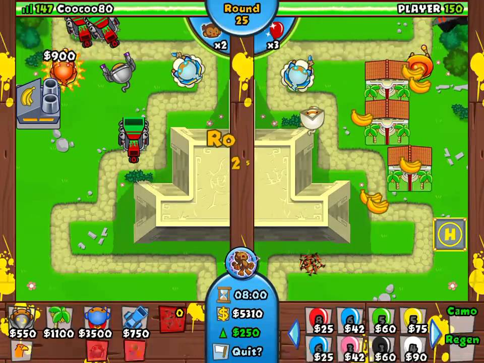 Bloons TD Battles Awesome Late Game! - YouTube