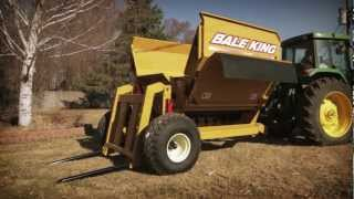 bale king 5100 and 6100 bale processors