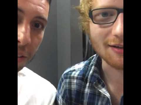 Ed Sheeran Nandos skank with @example