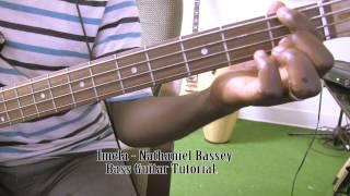 Imela - Nathaniel Bassey Bass Guitar Tutorial by David Oke AGS