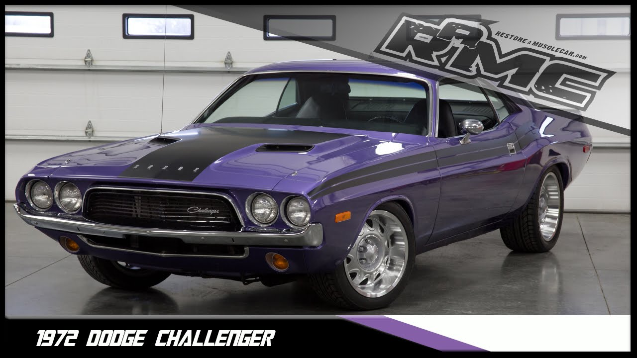 1972 Dodge Challenger - YouTube