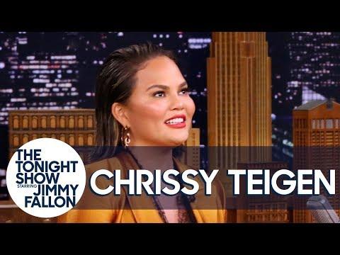 """Chrissy Teigen Addresses Her """"TEE-gen/TIE-gen"""" Name Mispronunciation"""