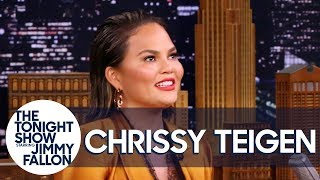 "Chrissy Teigen Addresses Her ""TEE-gen/TIE-gen"" Name Mispronunciation"