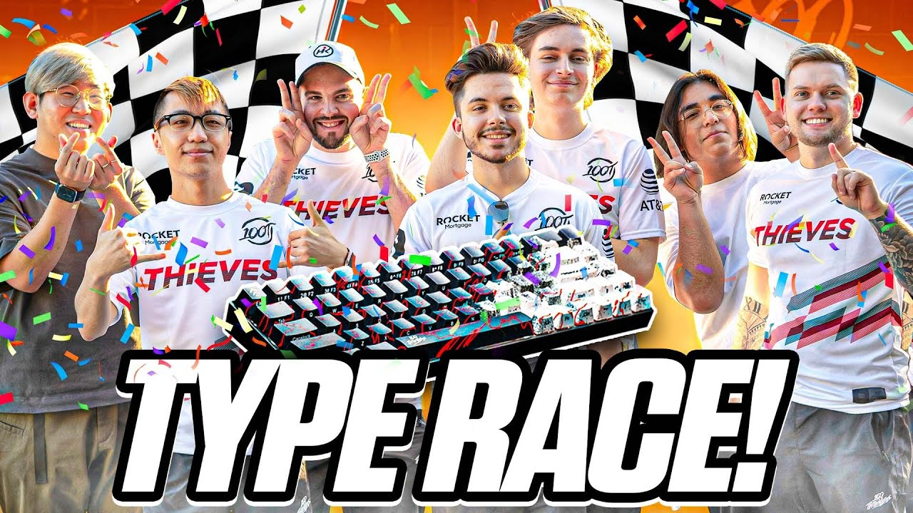 Which 100T Valorant Pro Types the FASTEST? TypeRacer Challenge ft Taeha Types