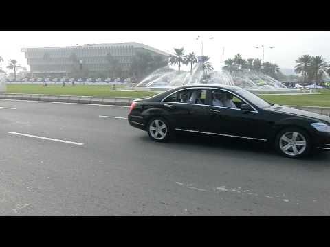 Qatar Sheikh-Hamad Bin Kalifa- Al Thani-On Qatar National Day2011