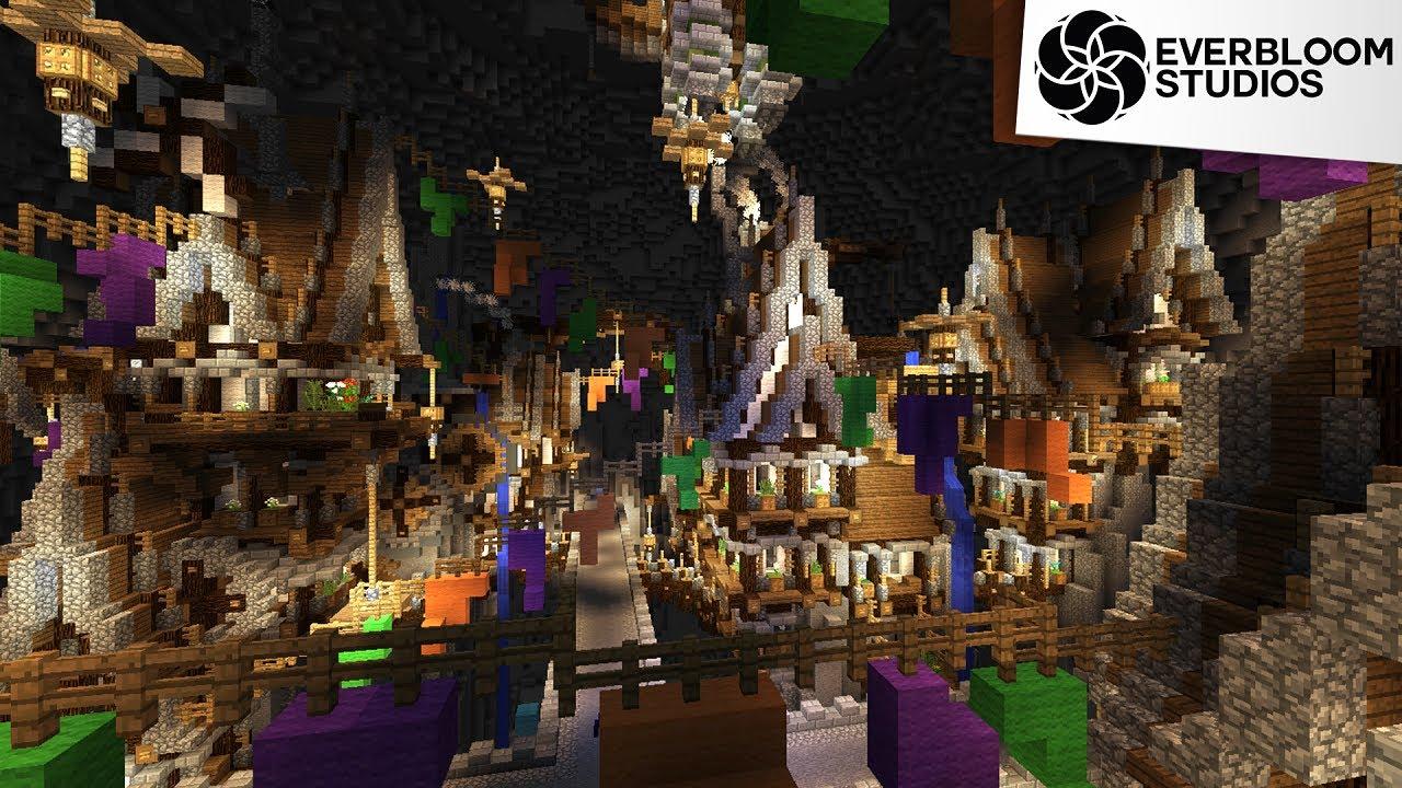Minecraft Build - Steampunk City - YouTube