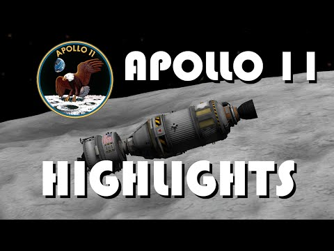Apollo 11 Mission Highlights - Kerbal Space Program