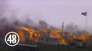Waco siege survivor describes escape from fiery compound