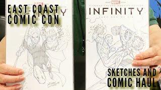 EAST COAST COMIC CON 2019: Sketches & Comic Haul Deals!