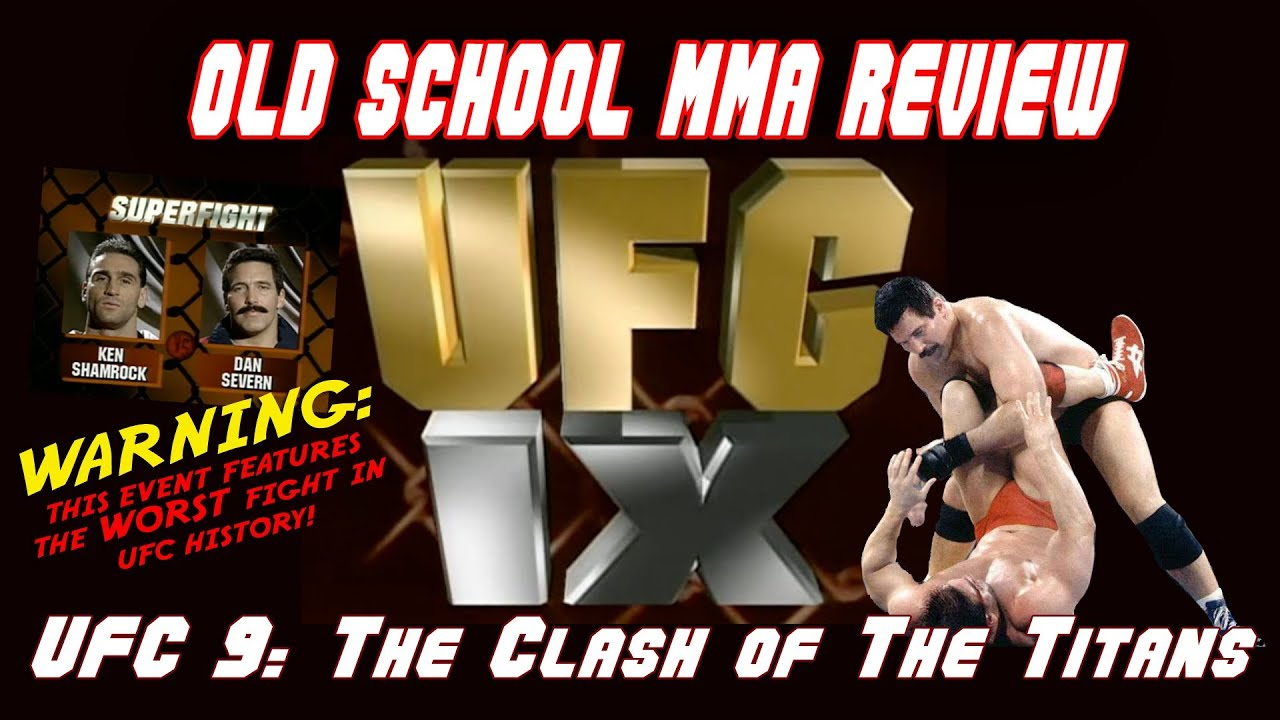 Old School MMA Review: UFC 9 -...