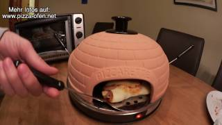 Pizzaofen-Test / Backofen Pizzarette im Test