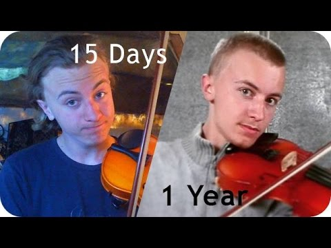 Year Learning How To Play The Violin Fiddle Progress