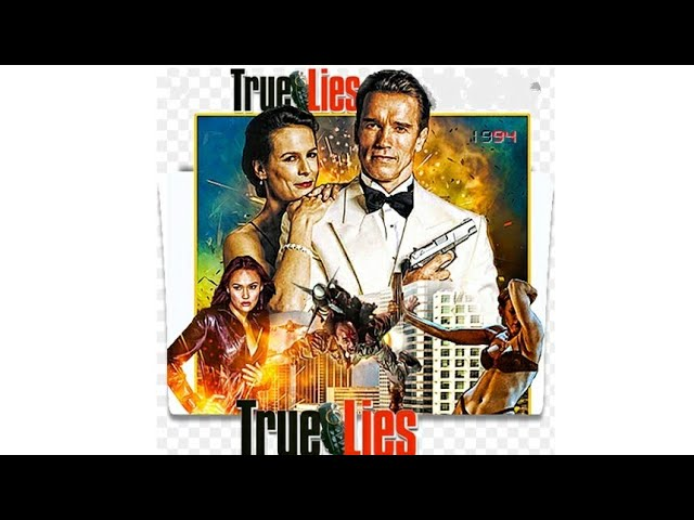 True Lies Hollywood Action Movie l Arnold Schwarzenegger Hollywood Picture