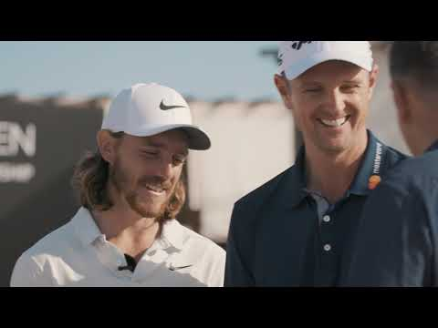 Turkish Airlines Open 2018 - Beach Golf Championship With Justin Rose and Tommy Fleetwood