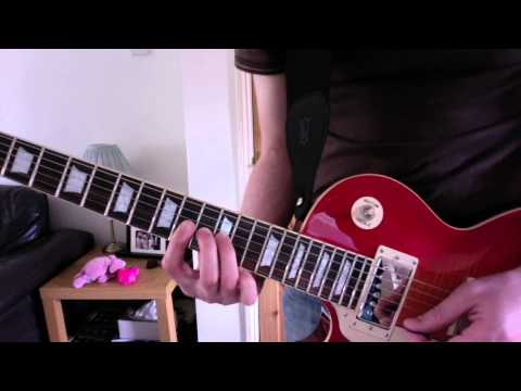 U2 Where the Streets Have No Name tutorial tabs guitar lesson pt1 - the  intro riff