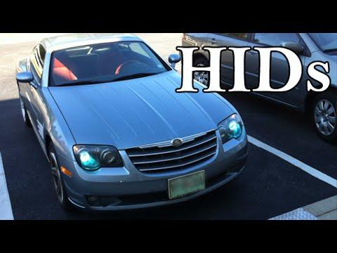 HID Xenon H7 Headlight Kit Installation, Chrysler