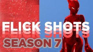 Fortnite Flick Shot Aim Montage   Season 7 2019