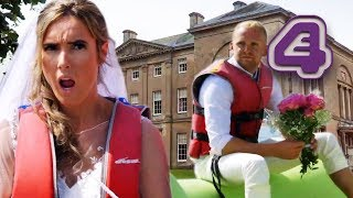 Bride's Downton Abbey Wedding Didn't Involve Parasailing!   Don't Tell The Bride