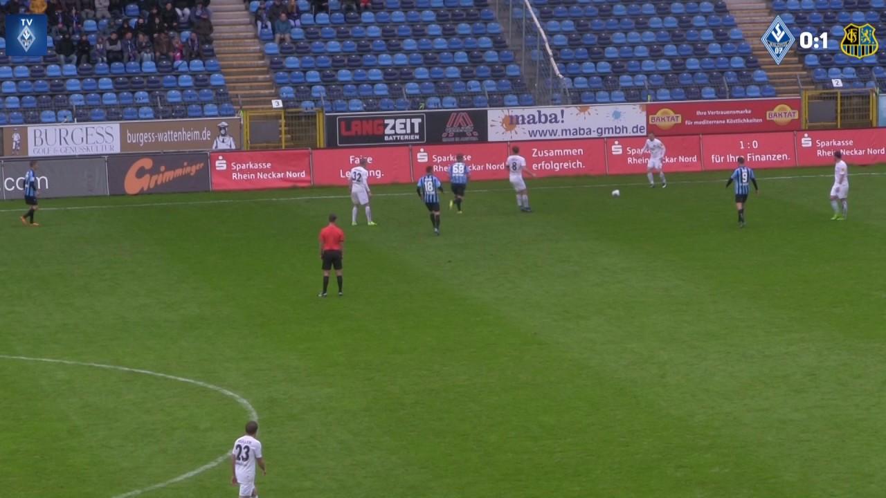 SV Waldhof Mannheim 07 Vs. 1.FC Saarbrücken