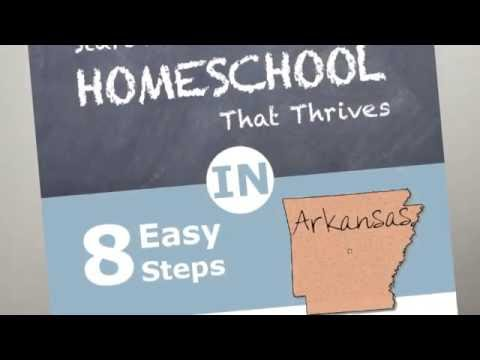 How to Homeschool in Arkansas and Arkansas Homeschool Laws