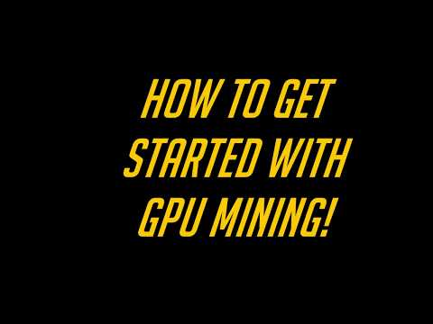 [FILIPINO-ENGLISH] HOW TO GET STARTED/TUTORIAL WITH GPU MINING