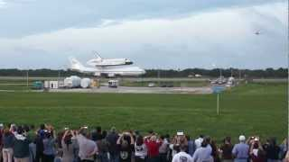 Space Shuttle Endeavour takes off from Kennedy Space Center for the last time