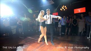 TRUJI & GLORIA Bachata Dance Performance @ THE SALSA ROOM