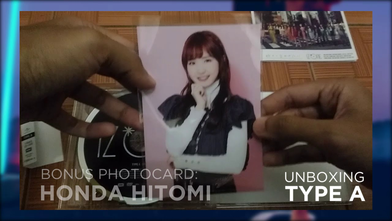 UNBOXING IZ*ONE: Suki to Iwasetai [CD+DVD / Type A, B]