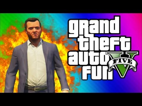 GTA 5 Funny Moments 3 - Big Explosions, Crashes, Deaths, Traffic Jam Fun, Teabag (GTA 5 Gameplay)