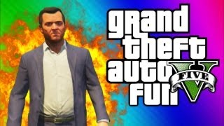 GTA 5 Funny Moments 3 - Big Explosions, Crashes, Deaths, Traffic Jam Fun, Teabag (GTA 5 Gameplay)