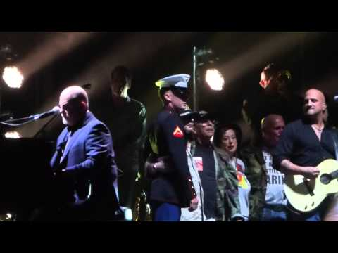 """Goodnight Saigon with US Veterans Onstage"" Billy Joel@Citizens Bank Park Philadelphia 8/13/15"