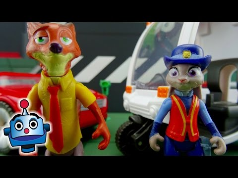Zootropolis Judy multa a Nick el zorro Zootopia