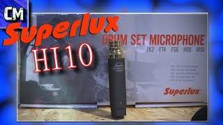 Superlux HI 10 Mikrofon ��Verschiedenste Instrumente
