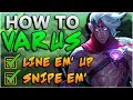 How To Be Your BEST Varus! - Season 8 Varus ADC Guide