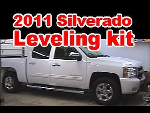 Chevy Silverado Leveling Kit Before And After >> Rough Country Leveling Kit Install on 2011 Chevy Silverado - YouTube